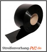 PVC Rollenware Schwarz, undurchsichtig