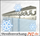 PVC Streifenvorhang für Kühlraum / Kühlhaus