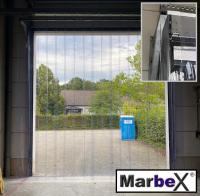 Beispiel: Für Tore PVC Streifen in 400x4 mm